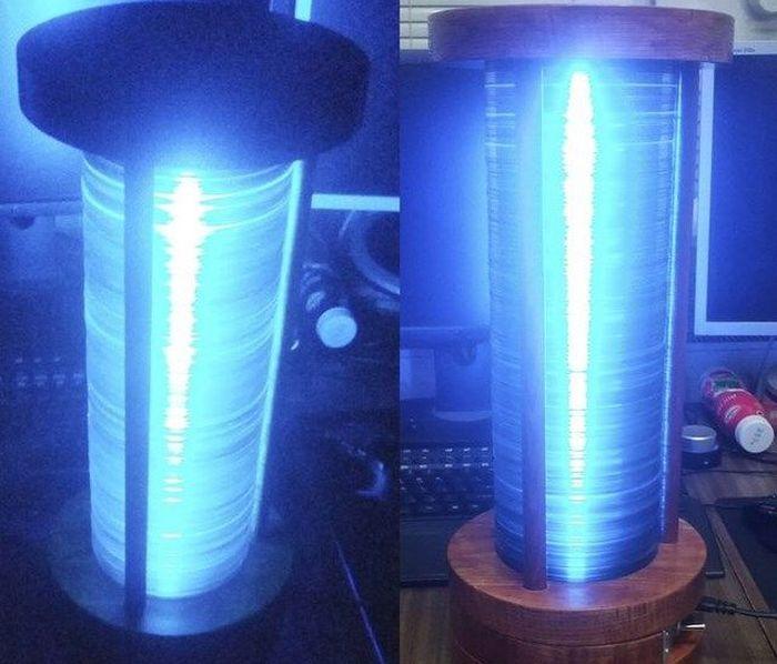 лампа, своими руками, светильник