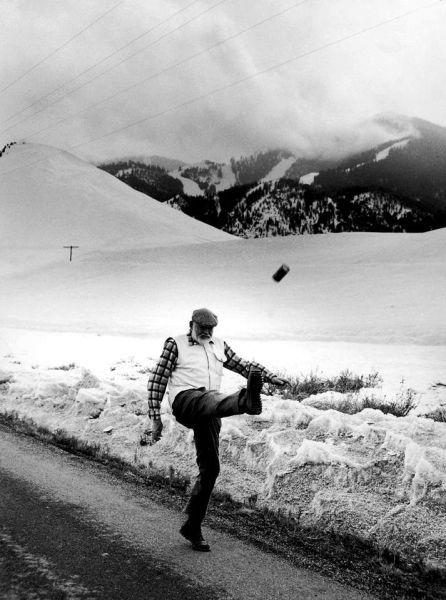 Прекрасные фото горы, зима, крутая фотка, старик