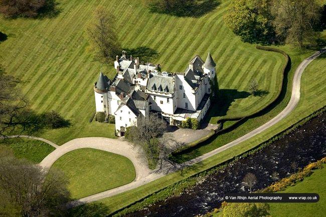 Английские замки (39 фото)