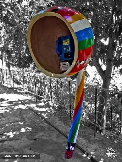 Телефонные будки (15 фото)
