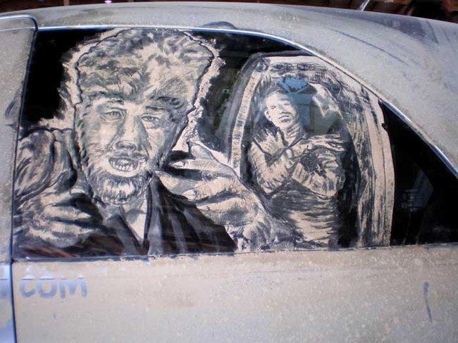 Художества Скота Вейда на грязных авто (32 фото)