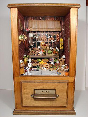 Убранство кукольных домов (105 фото)