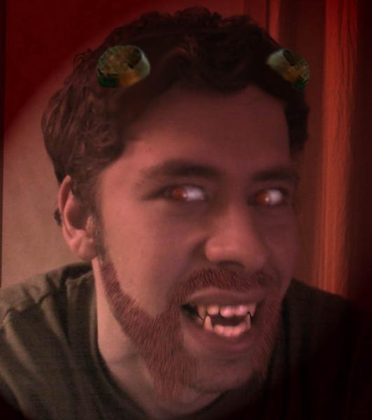 В Джейка вселился демон, может поэтому МИХАИЛ всегда с собой носит меч, мало ли что…