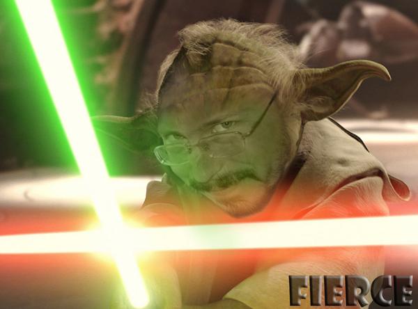 Fierce насмотрелся «Звёздных воинов» - и видимо вследствие этого смутилось его сознание…