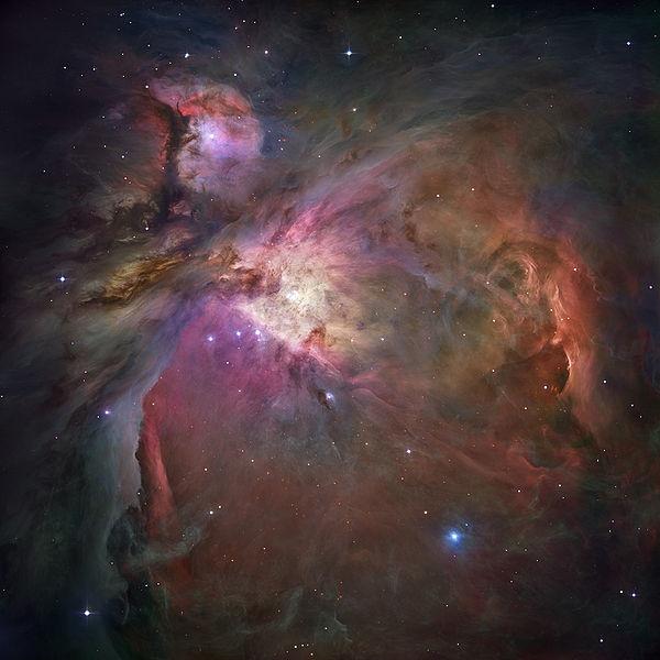 Orion Nebula - Hubble 2006 mosaic 18000