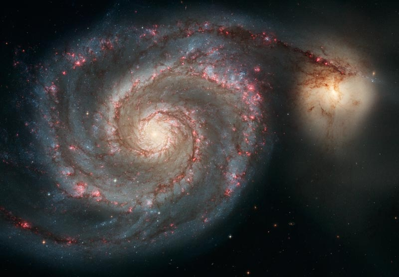 2008 January 5 - M51: Cosmic Whirlpool
