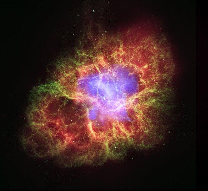 Crab Nebula: A Star