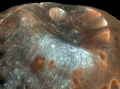 "Mars's ""Fear"" Moon Unveiled"