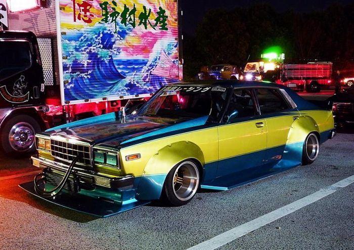 Bosozoku - безумный японский тюнинг авто