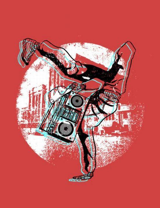 Креативные рисунки для футболок (109 фото)