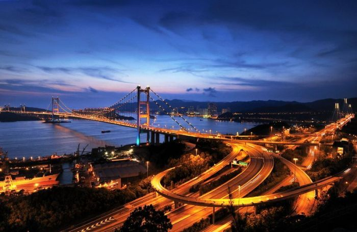 Tsing Ma Bridge, Китай – 1,377 метров