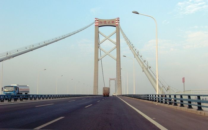 Yangluo Bridge, Китай – 1,280 метров
