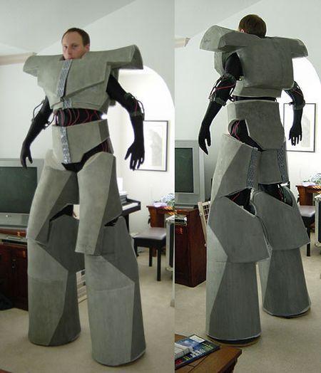Как сделать робота костюм