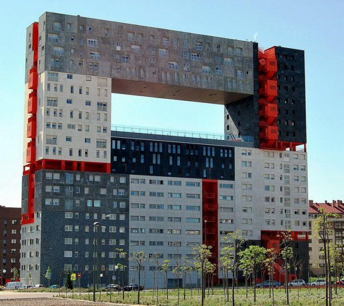 Edificio mirador в Мадриде
