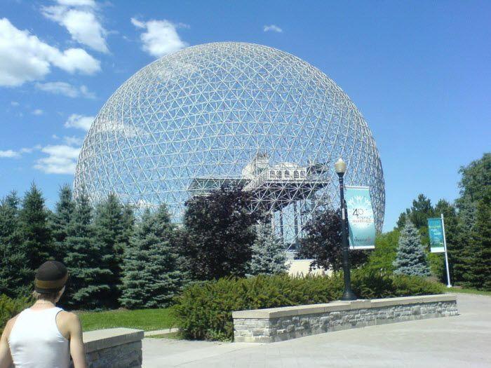 Montreal biosphere. Монреаль, Канада