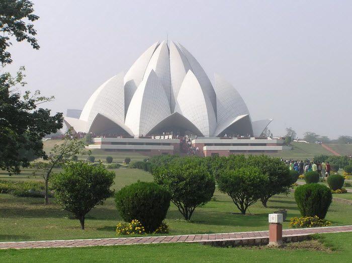 Храм Лотоса. Нью-Дели, Индия