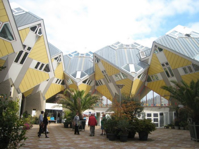 Cubic houses. Роттердам, Нидерланды