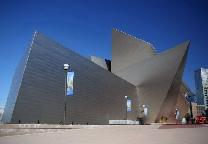 Denver Art Museum - Денверский музей искусств