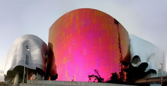 Experience music project. Сиэттл, США
