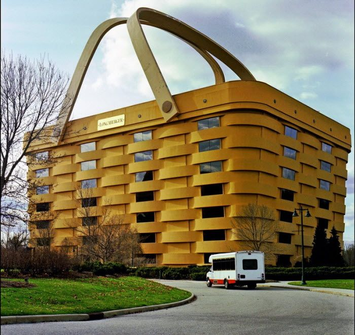 Longaberger Basket Building. Ньюарк, США