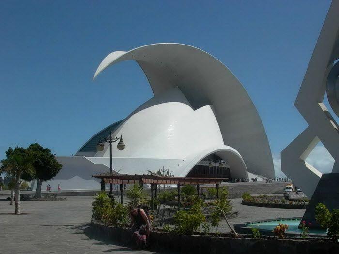 Tenerife Auditorium. Санта-Крус-де-Тенерифе, Канарские острова, Испания