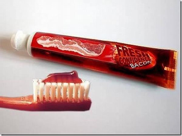 Зубная паста с беконом