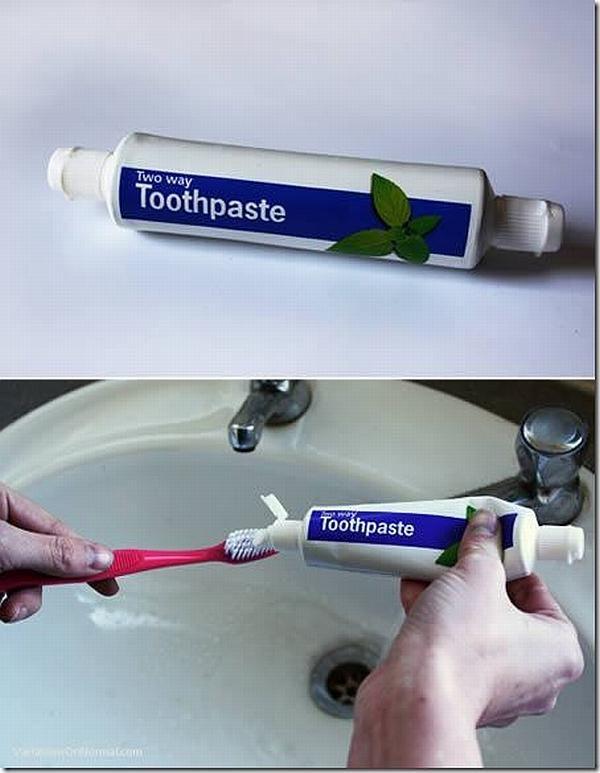 Зубная паста для двоих, двойная