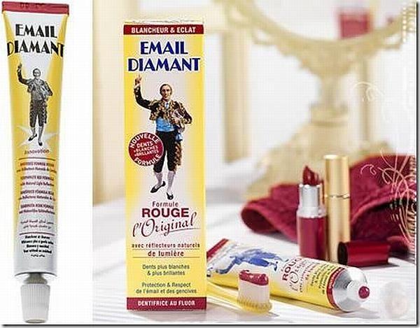 Блестящая зубная паста Email Diamant Rouge