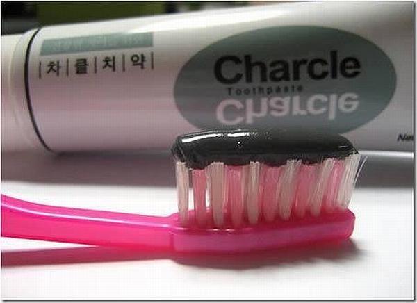 Зубная паста с чистящим эффектом сажи