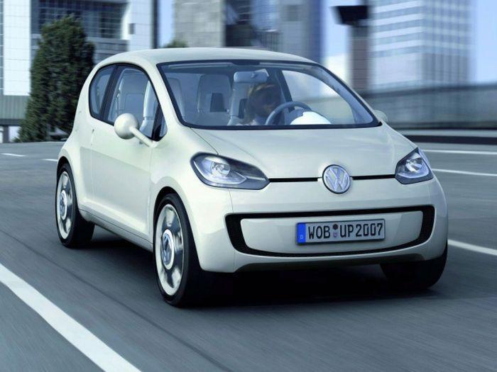 VW  Lupo будут делать Audi, Skoda и Seat (4 фото)