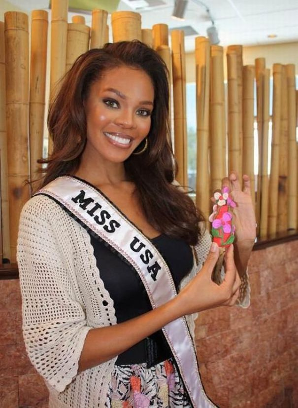 18. Miss USA 2008 Crystle Stewart из Missouri City, Texas