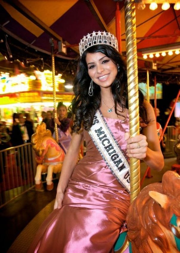 20. Miss USA 2010 Rima Fakih из Dearborn, Michigan