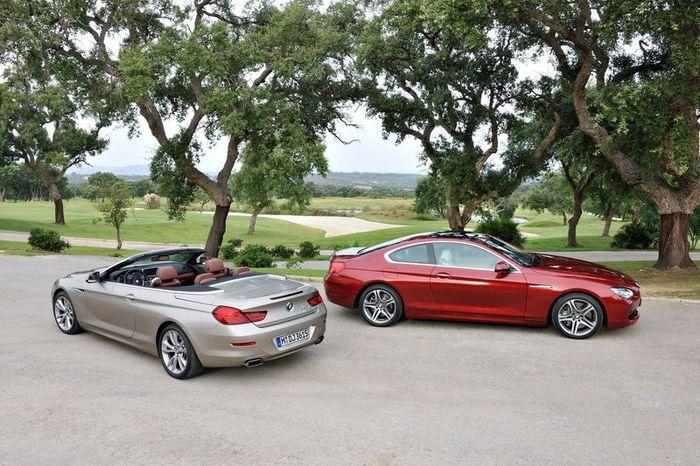 BMW 6-Series получит новый 6-цилиндровый двигатель (18 фото)