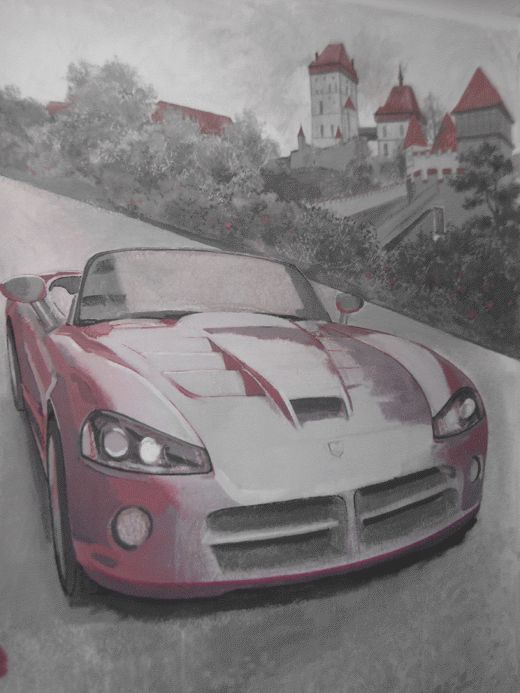 Необычные обои - Dodge Viper (10 фото)