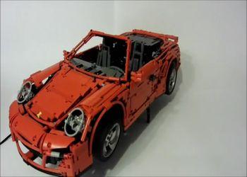 Porsche из Lego