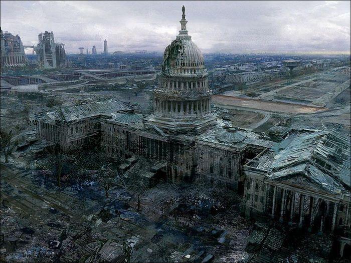 Шокирующие рисунки апокалипсиса (36 Фото)