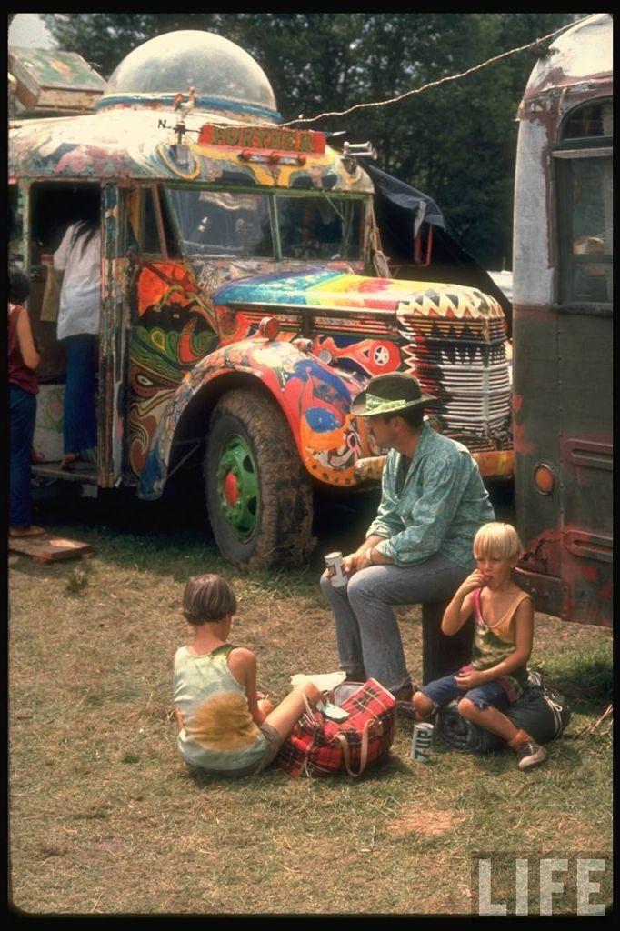 0 413ff  Вудсток 1969 года на снимках журнала Life