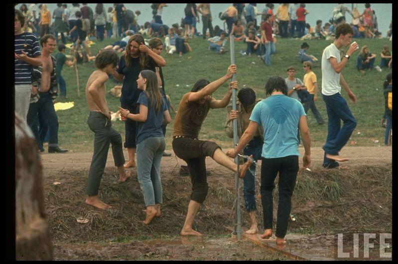 0 41402  Вудсток 1969 года на снимках журнала Life