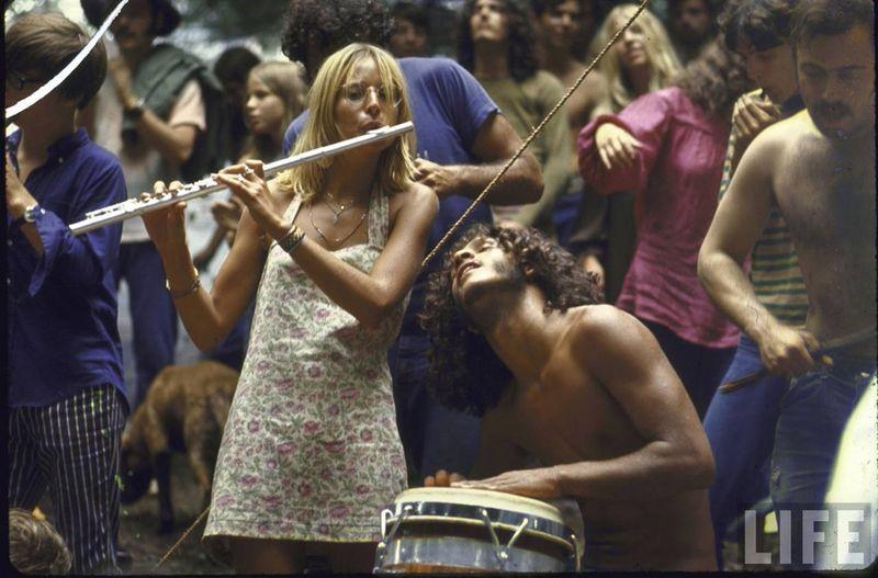 0 41408  Вудсток 1969 года на снимках журнала Life