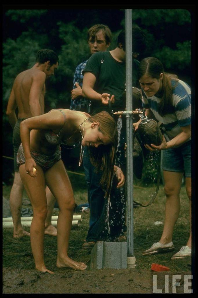 0 4140b  Вудсток 1969 года на снимках журнала Life