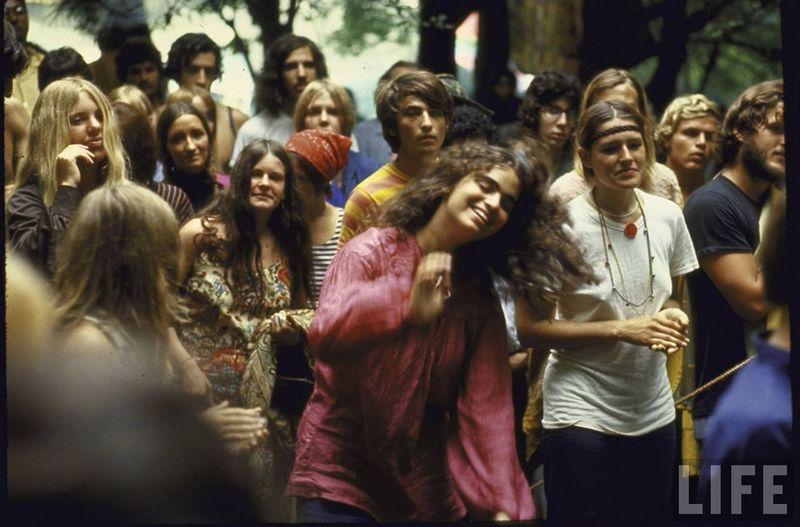 0 41412  Вудсток 1969 года на снимках журнала Life