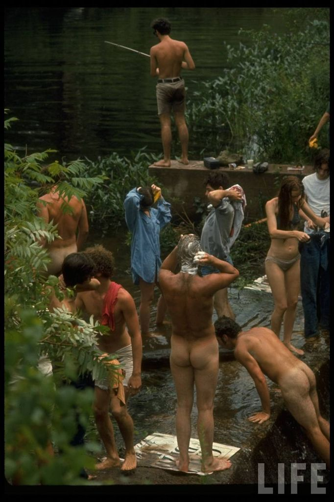 0 41417  Вудсток 1969 года на снимках журнала Life