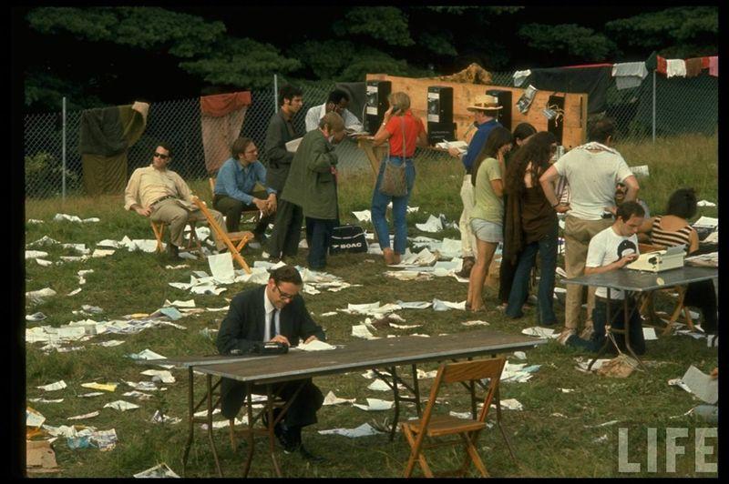 0 4141a  Вудсток 1969 года на снимках журнала Life