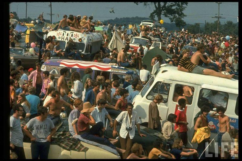 0 4141f  Вудсток 1969 года на снимках журнала Life