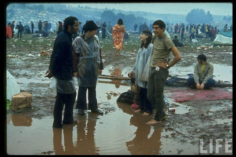 0 41423  Вудсток 1969 года на снимках журнала Life