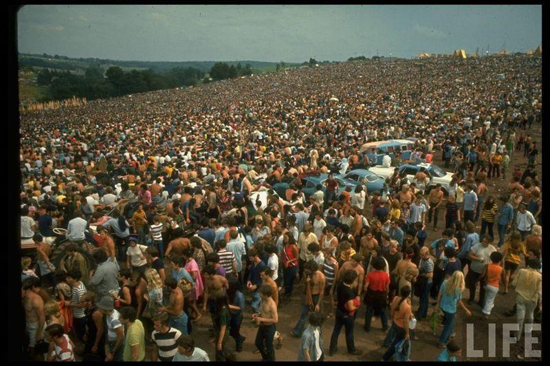 0 41425  Вудсток 1969 года на снимках журнала Life