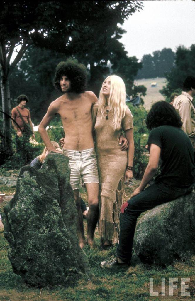 0 4142c  Вудсток 1969 года на снимках журнала Life