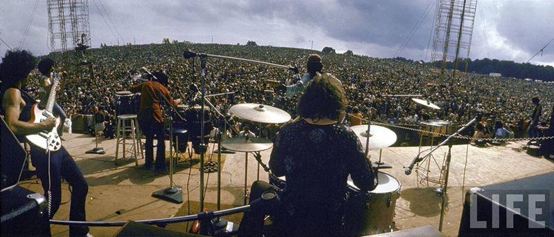 0 41430  Вудсток 1969 года на снимках журнала Life
