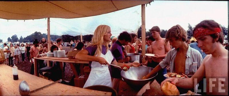 0 41431  Вудсток 1969 года на снимках журнала Life