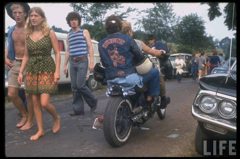 0 41437  Вудсток 1969 года на снимках журнала Life